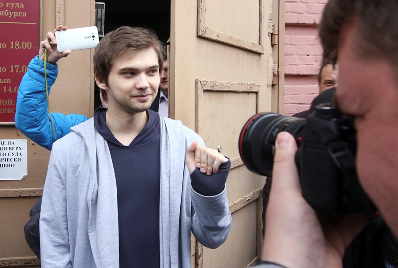 Ruslan foi detido em setembro de 2016 após publicar vídeo no Youtube.