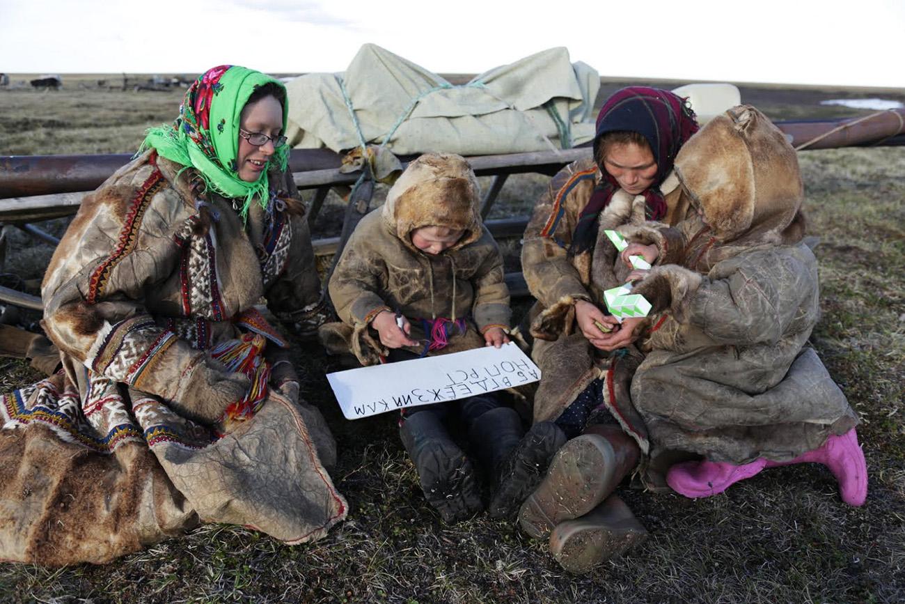 Foto: Aleksandra Terekhina e Aleksandr Volkovitski/ yamalexpedition.ru