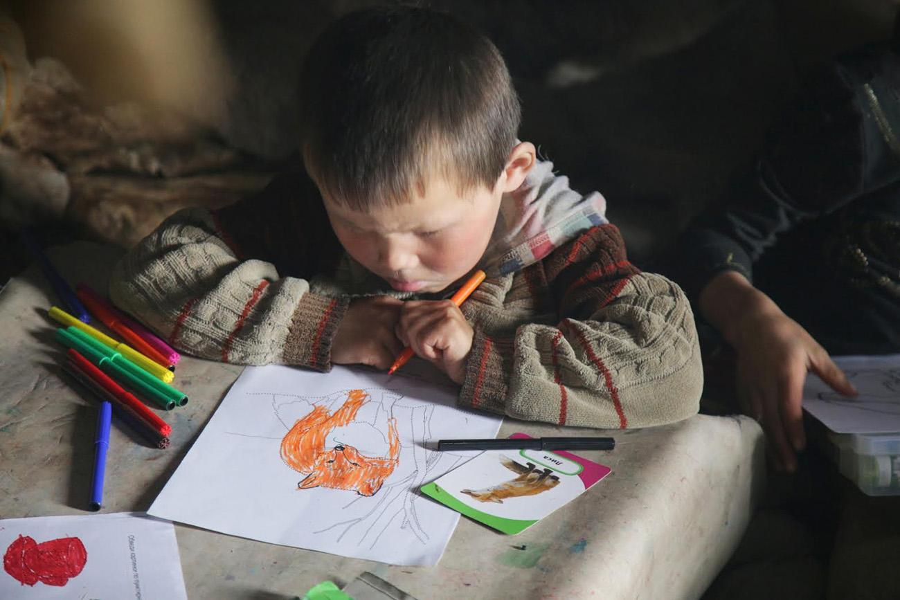 Pada awal bulan ini, setidaknya 48 anak Rusia dikabarkan terisolasi di Mosul, Irak, setelah orang tua mereka terbunuh dalam pertempuran membela ISIS.