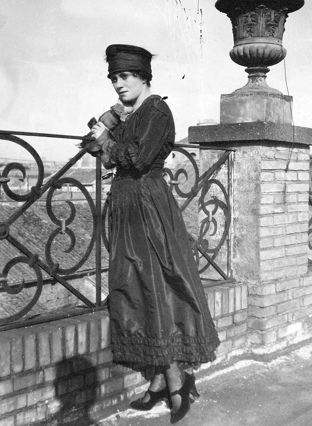 Olga Khokhlova. Photo d'archive