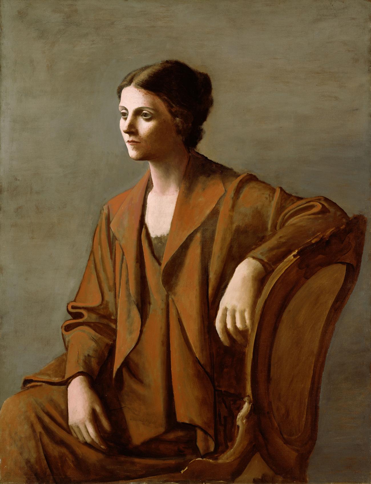 Olga Picasso,1923n
