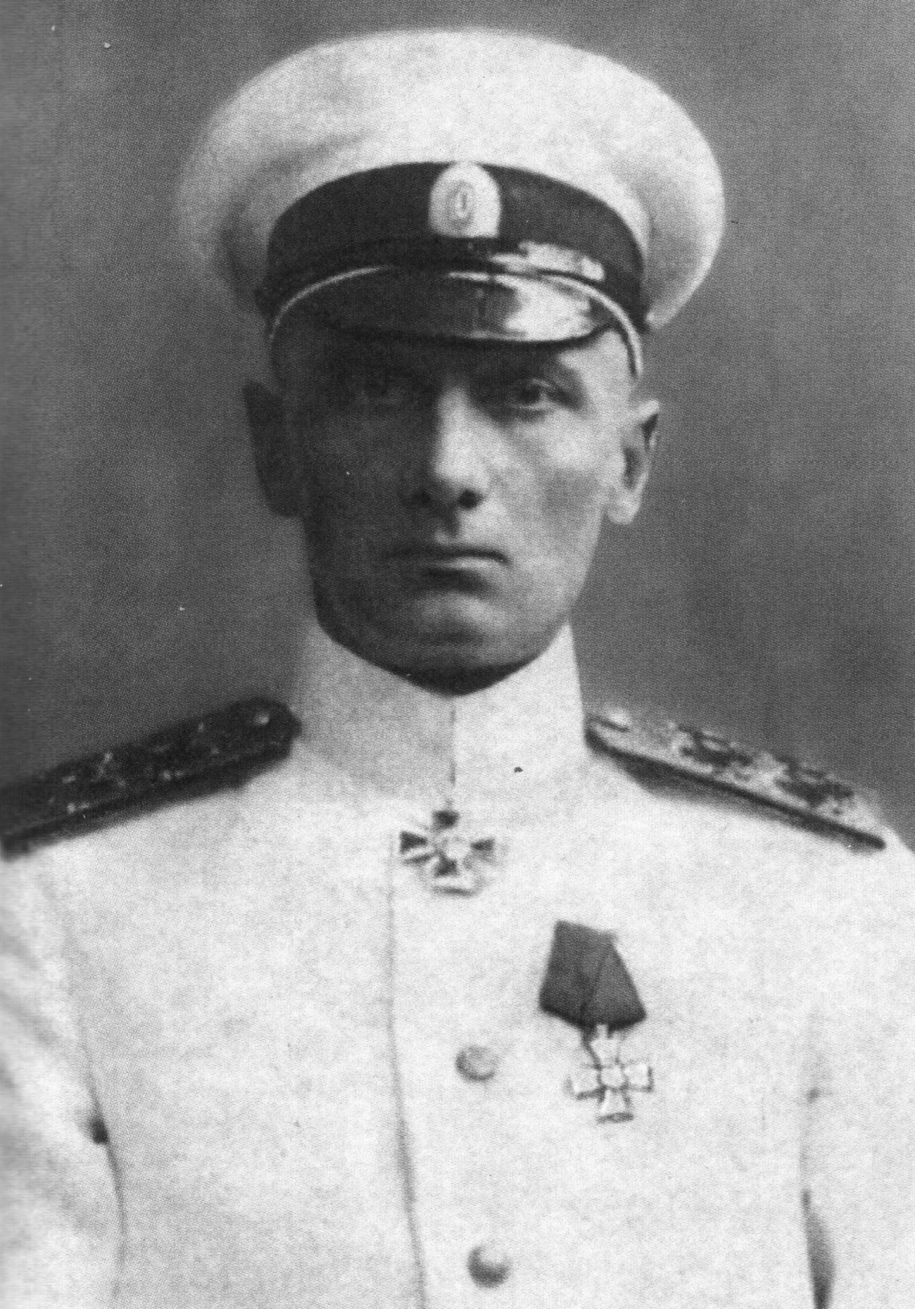 Командващият на Черноморския флот, вицеадмирал А. В. Колчак, 1916 г. / Архив