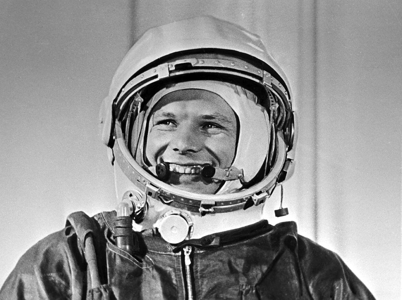 Pilot, kozmonavt in heroj Sovjetske zveze, polkovnik Jurij Gagarin