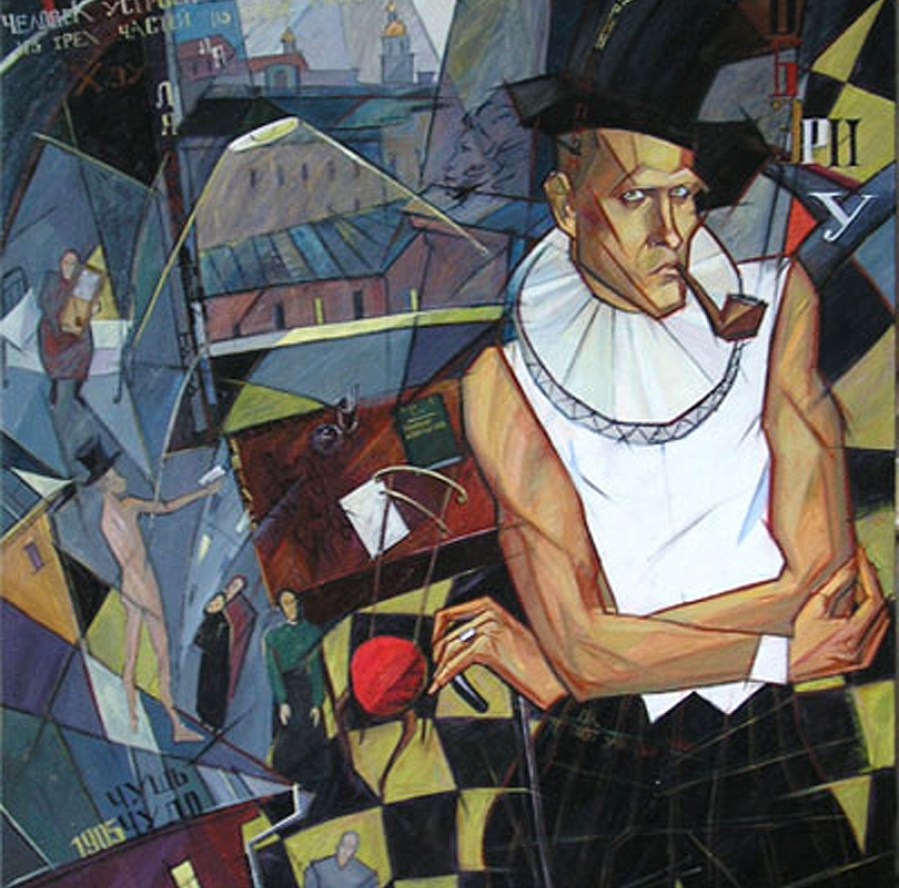 Portrait of Daniil Kharms. Source: Tatyana Druchinina