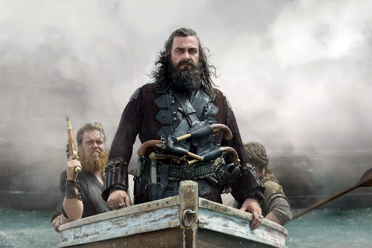 "Writer Andrei Strugatsky: ""We tried fighting Internet piracy, but unfortunately piracy won."" Photo: ""Black Sails"" Searies"