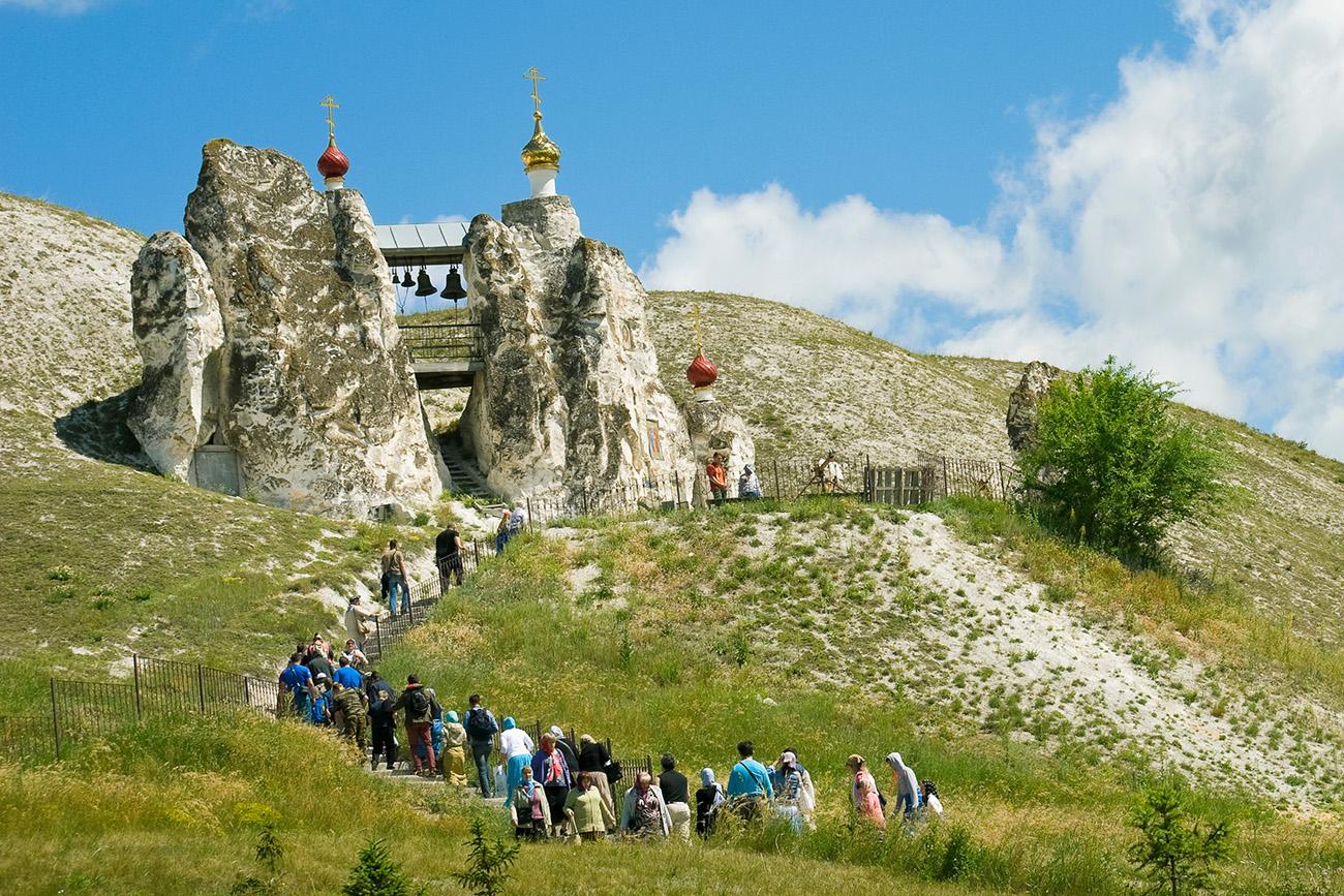 Il Monastero della grotta di Kostomarovo.