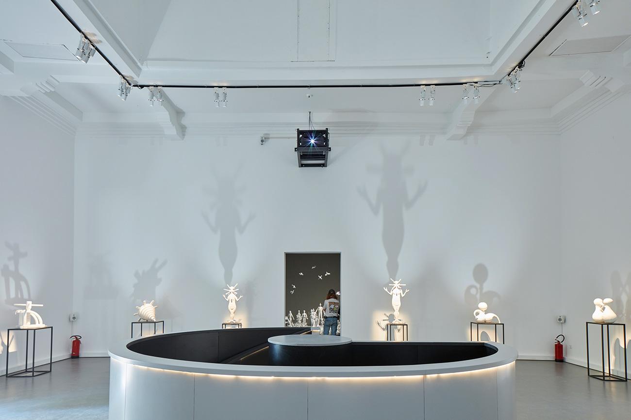 Installation by Grisha Bruskin