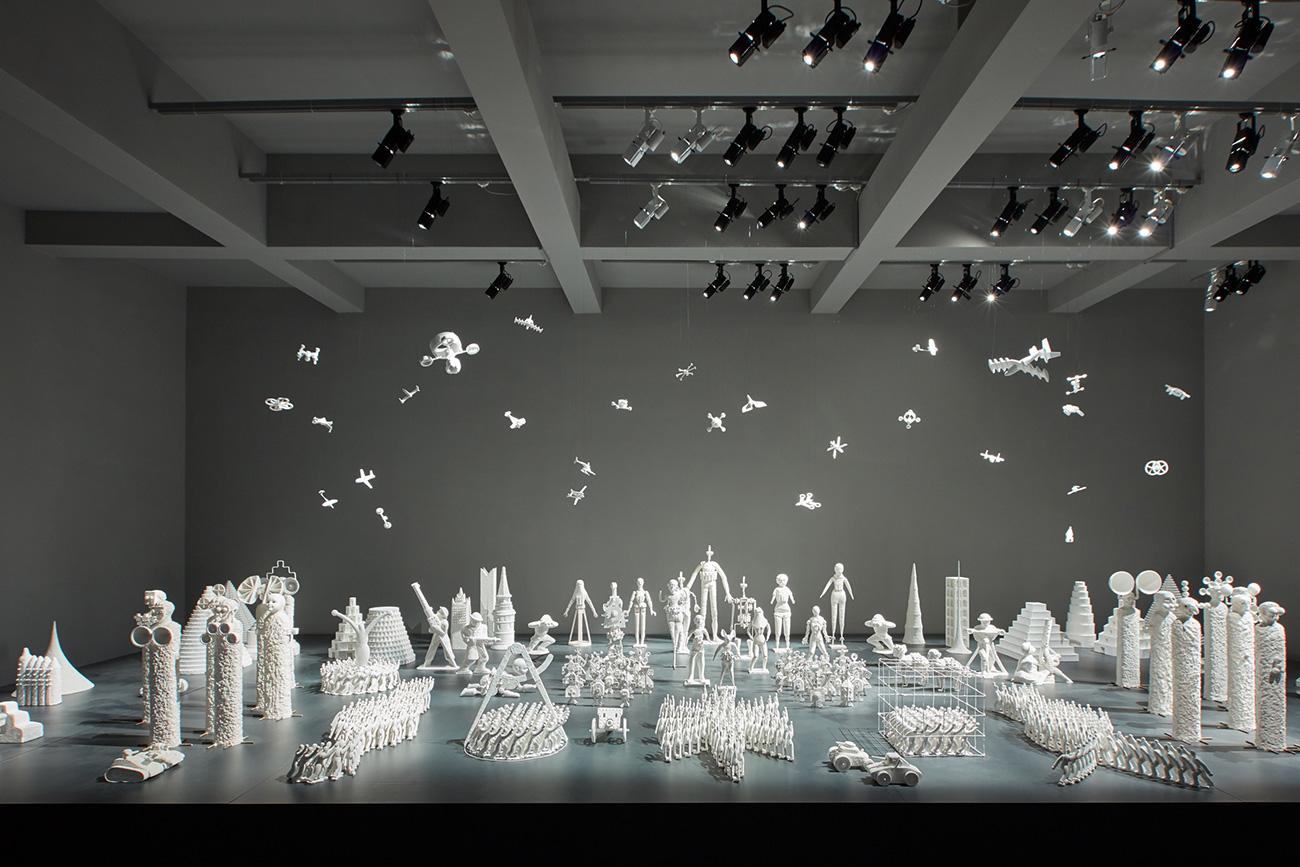 Installation by Grisha Bruskin\n