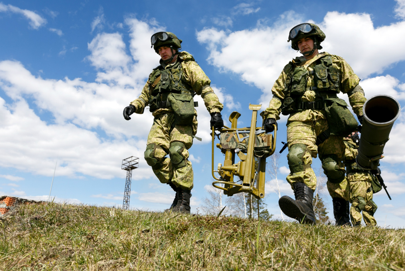 The relatively lightweight missile can be carried by two commandoes. Source: Ministry of Defense