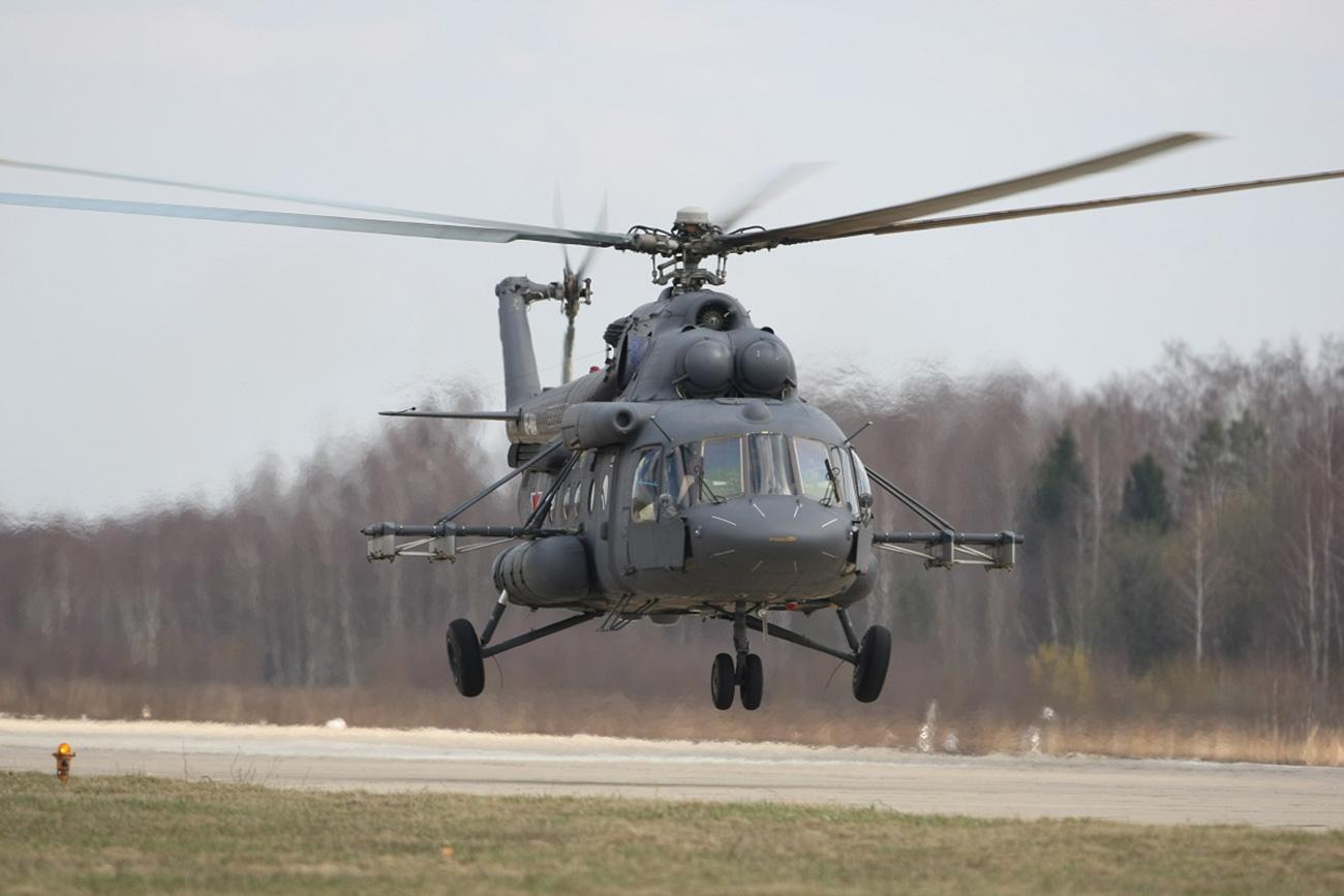 El helicóptero ruso Mi-8MTV-5. Fuente: Helicópteros de Rusia