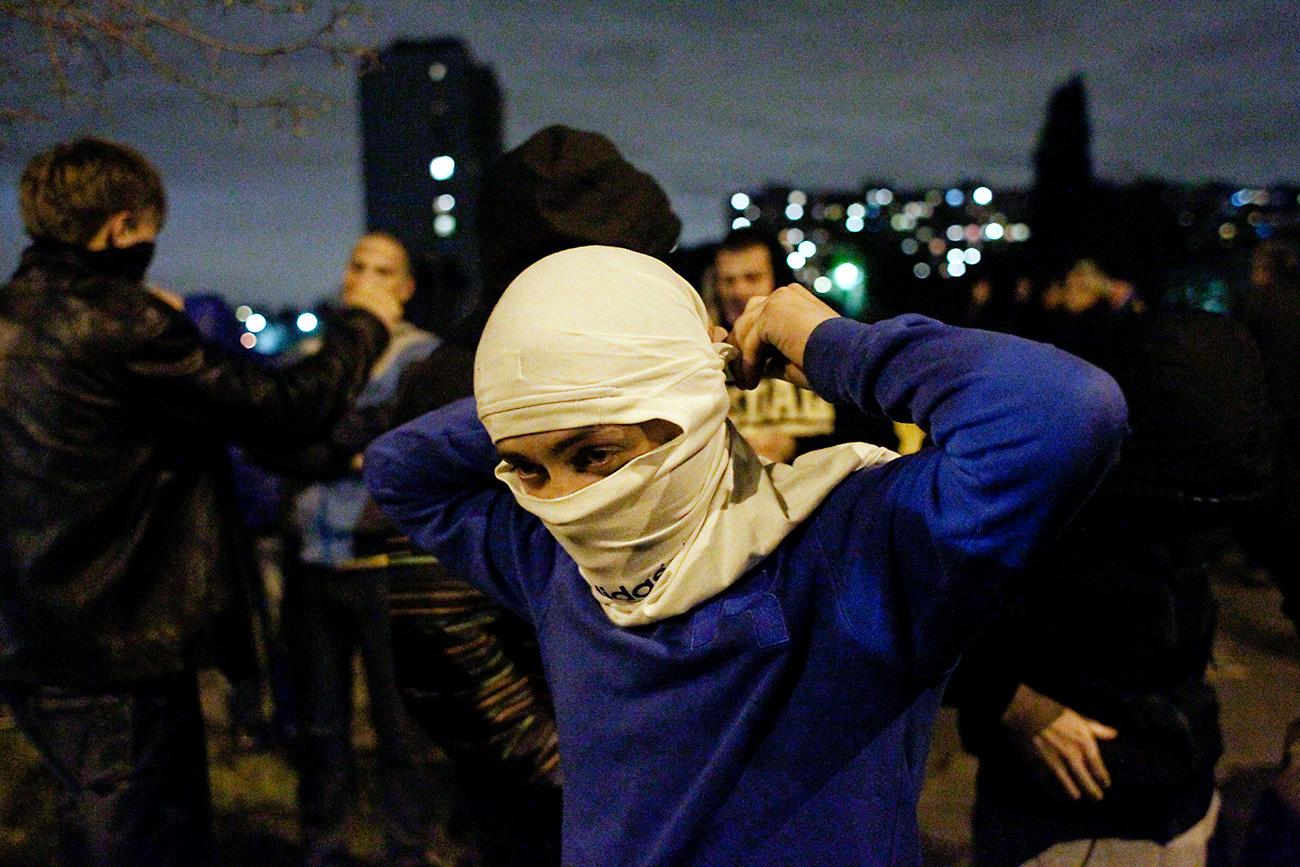 Протести у Бирјуљову. Илустрација: Reuters