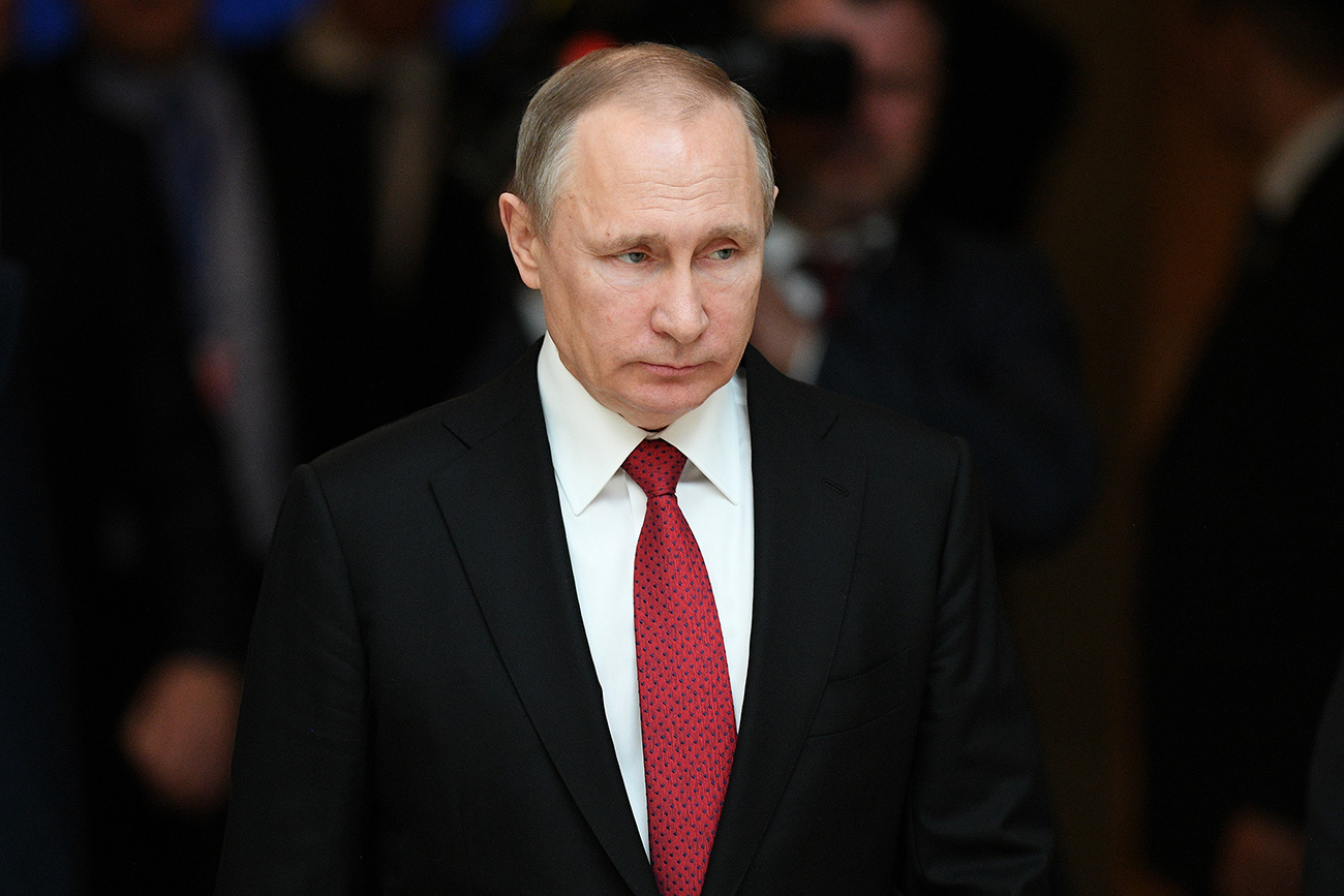 Russian President Vladimir Putin approves Russia's economic security strategy until 2030.