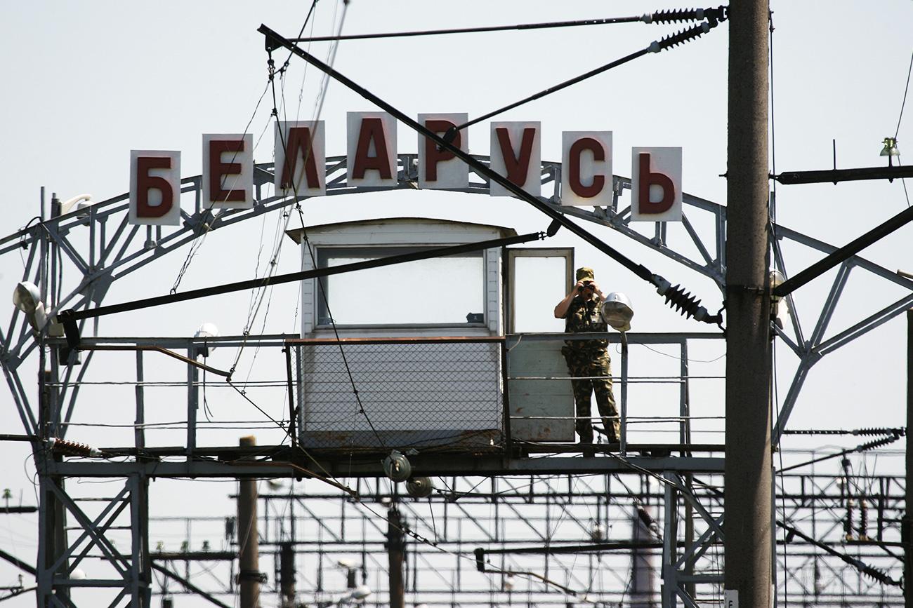 Em países como a Bielorrússia, onde o russo é reconhecido oficialmente, a língua é usada em quase todos os lugares