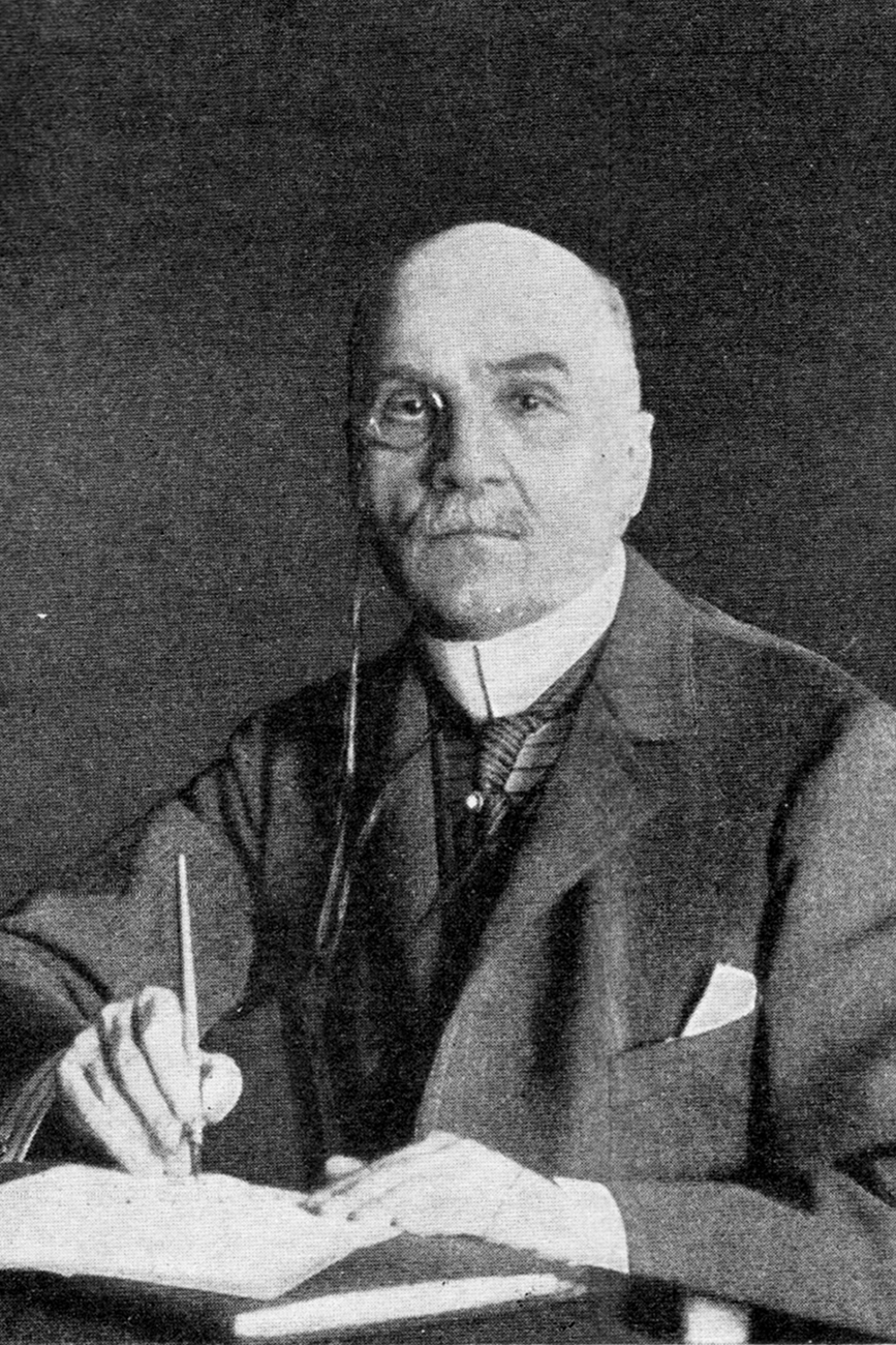 """Maurice Paleologue, the French ambassador to Russia from 1914-17. Source: """"Chronical of war"""" magazine, 1914."""