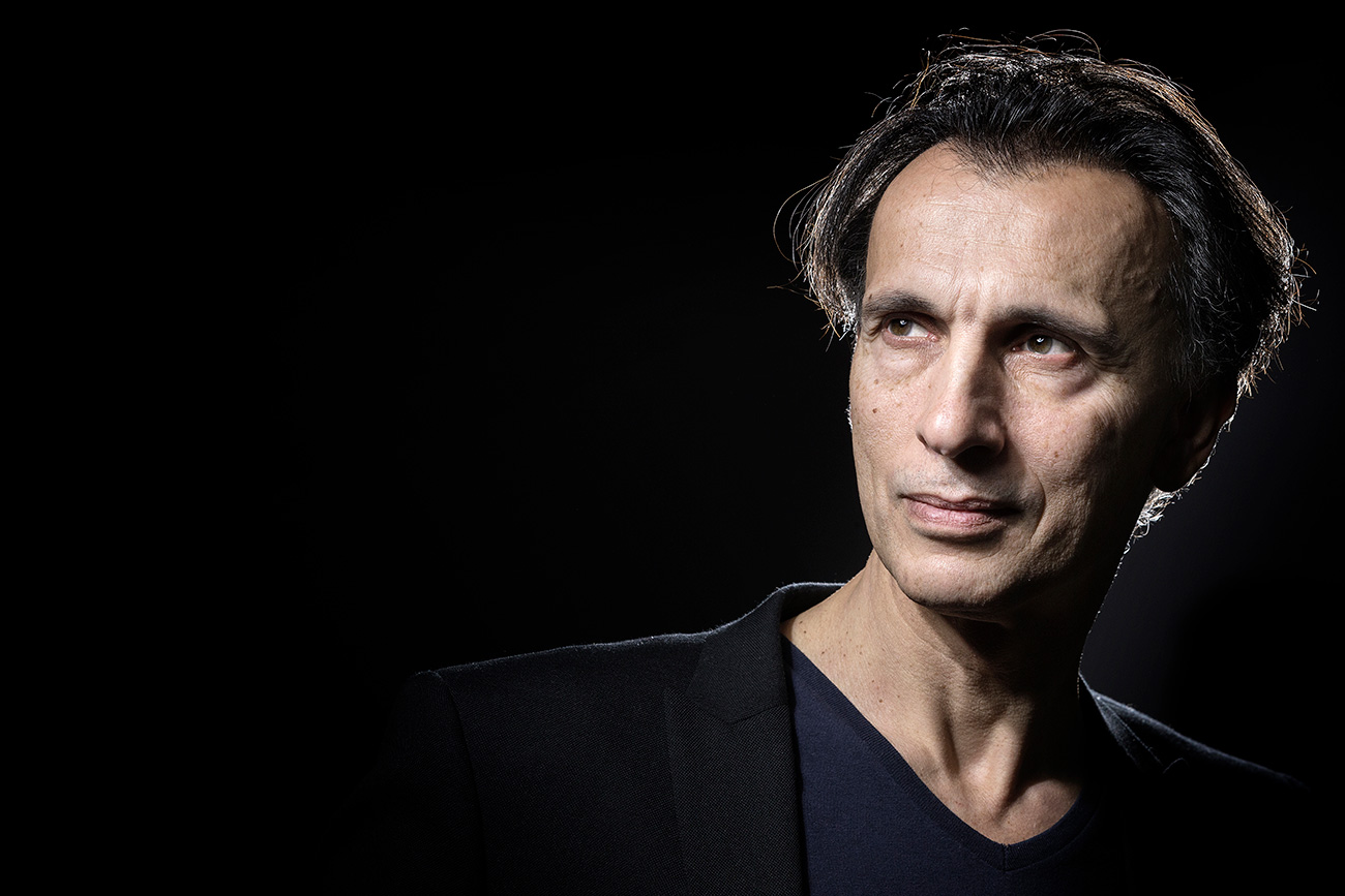 Laurent Hilaire poses during a photo session in Paris on December 7, 2016.