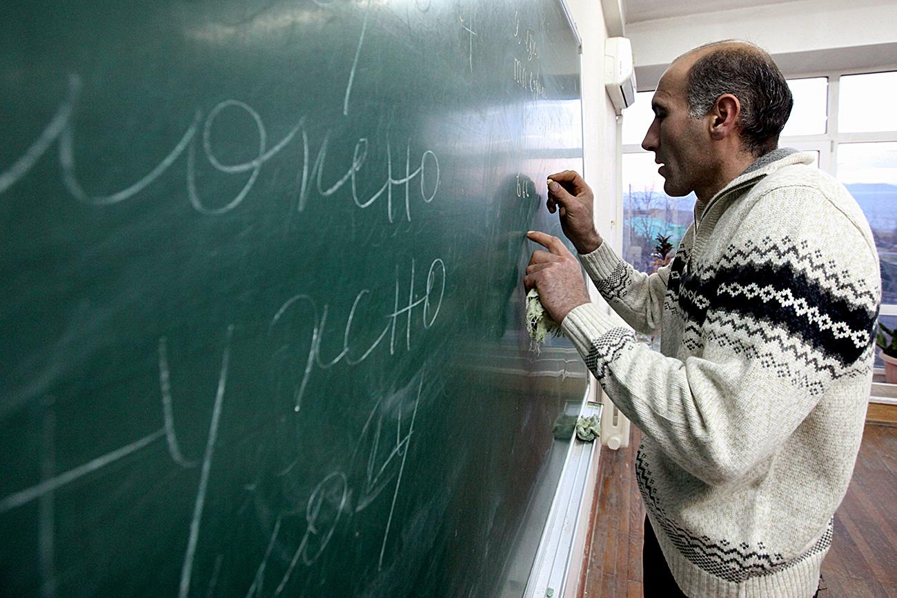 Ruščine se učijo otroci in odrasli po vsem svetu. Se pa je njen status po razpadu ZSSR zagotovo spremenil.
