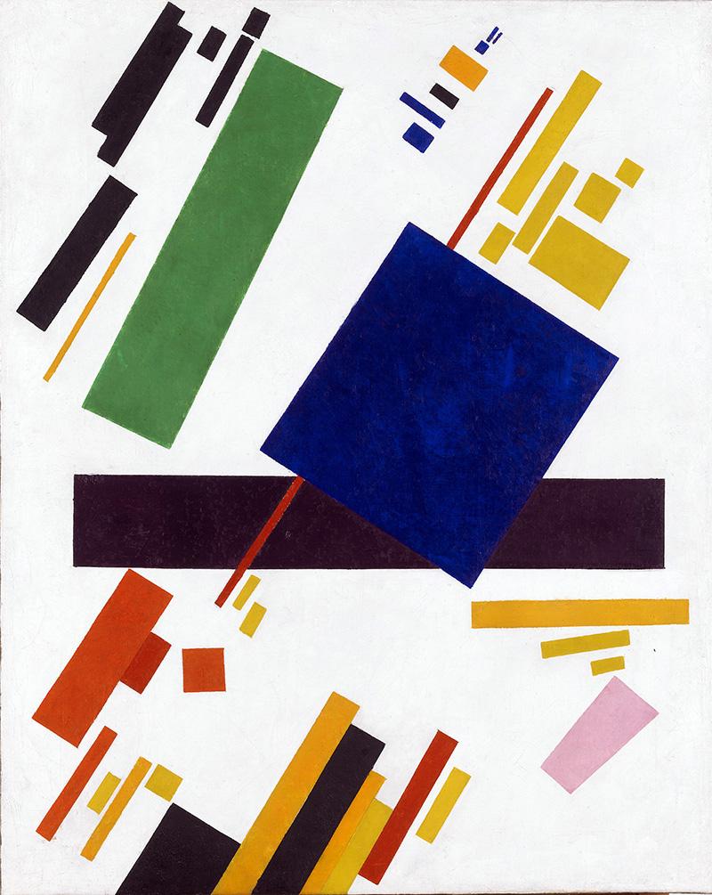 Kazimir Malevich. Suprematist Composition, 1912. Source: Global Look Press