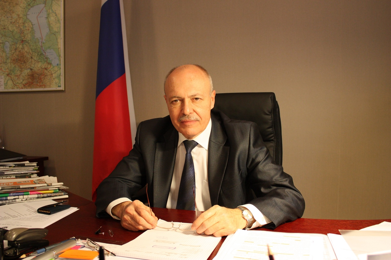 Russia's Consul General in Narva Dmitry Kazennov.