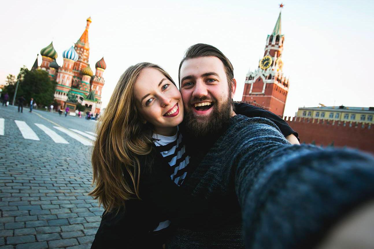Tempat-tempat terbaik di Rusia untuk dapatkan foto 'selfie' yang menawan.