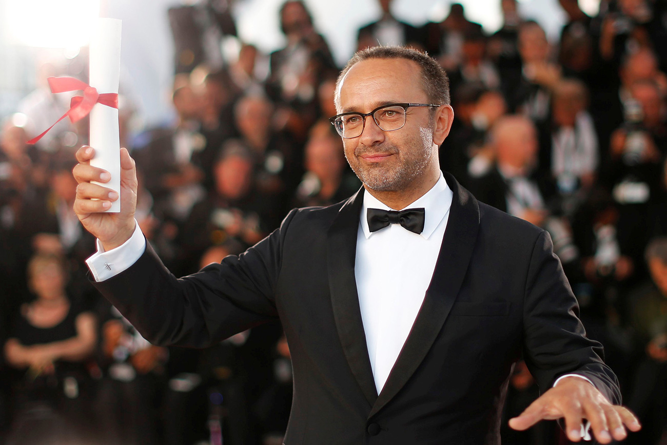 Director Andrey Zvyagintsev, Jury Prize award winner for his film 'Loveless'.