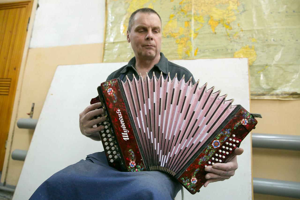 Obično se na harmoniku aplicira standardni crtež, no instrumenti izrađeni po narudžbi mogu biti prekriveni dragim kamenjem. Harmonike-suveniri često prikazuju priče iz ruskih bajki.