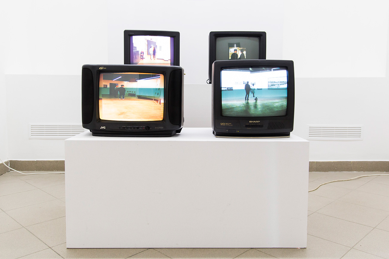 Photo from the exhibition. Source: Fragment gallery