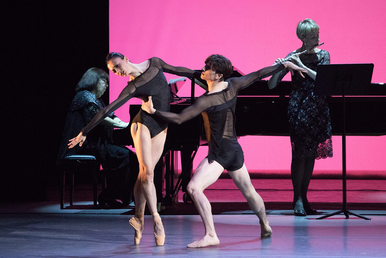 Joseph Walsh and Victoria Jaiani, Joffrey Ballet, Chicago. Source: Mikhail Logvinov
