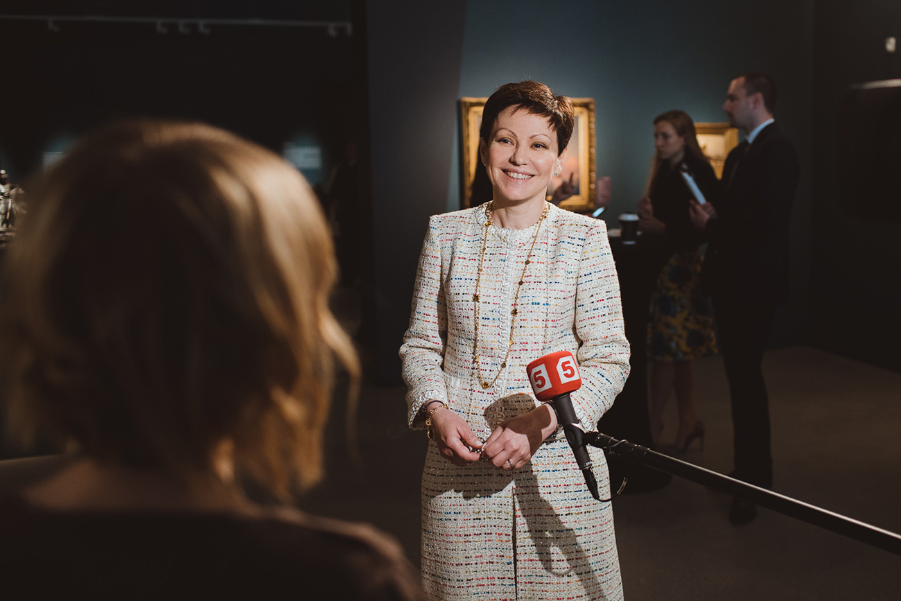 Генералният директор на Sotheby's в Русия Ирина Степанова.
