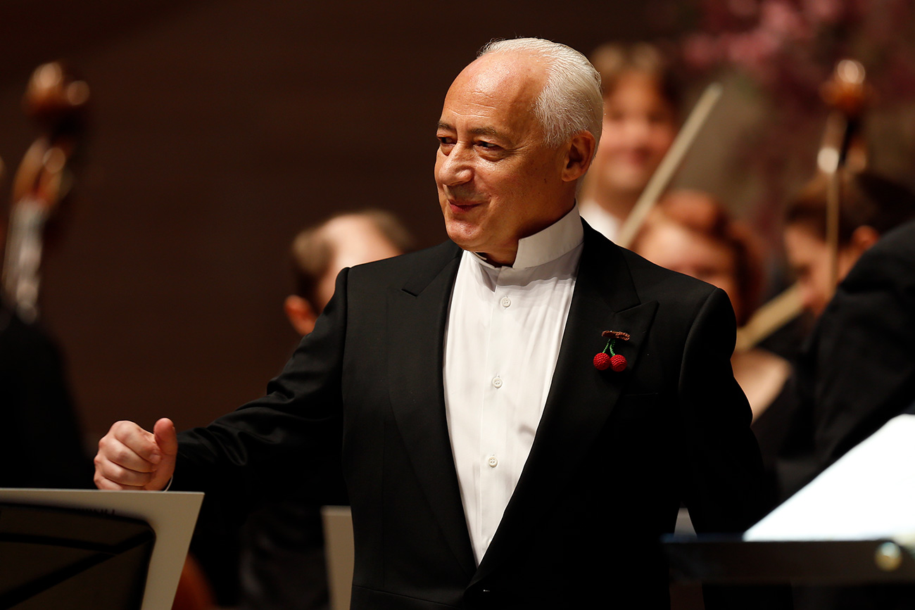 As conductor and artistic director of the National Philharmonic Orchestra, Vladimir Spivakov earned about $1.35 million in 2016. Source: Mikhail Dzhaparidze/TASS