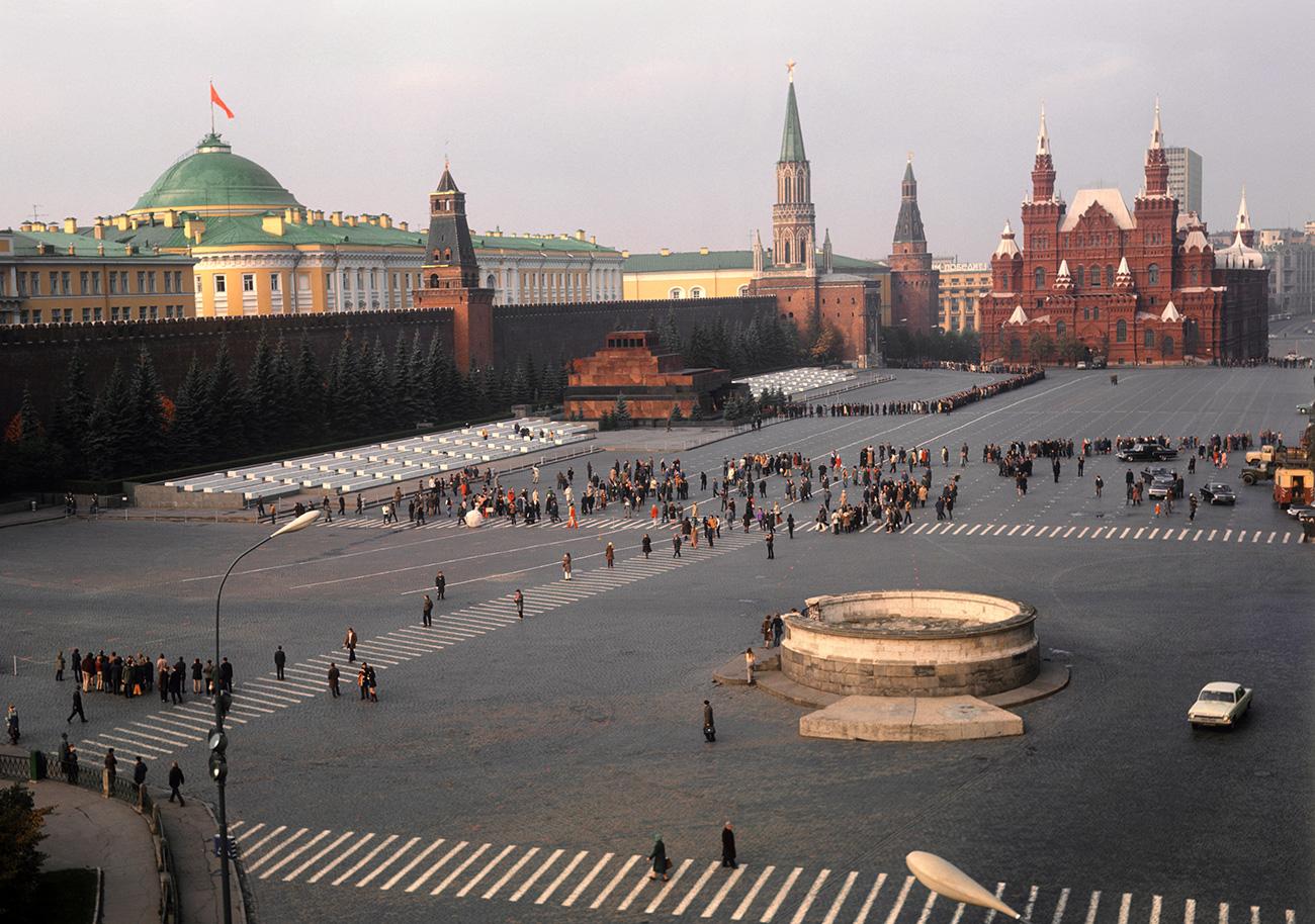 Црвениот плоштад во Москва, СССР.