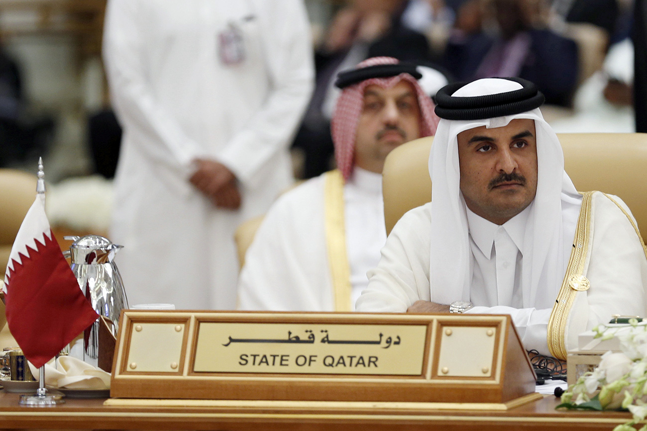 "Expert: ""The attack on small but rich Qatar is linked to the exacerbated confrontation between Saudi Arabia and Iran. Photo: The Emir of Qatar Tamim bin Hamad al-Thani."