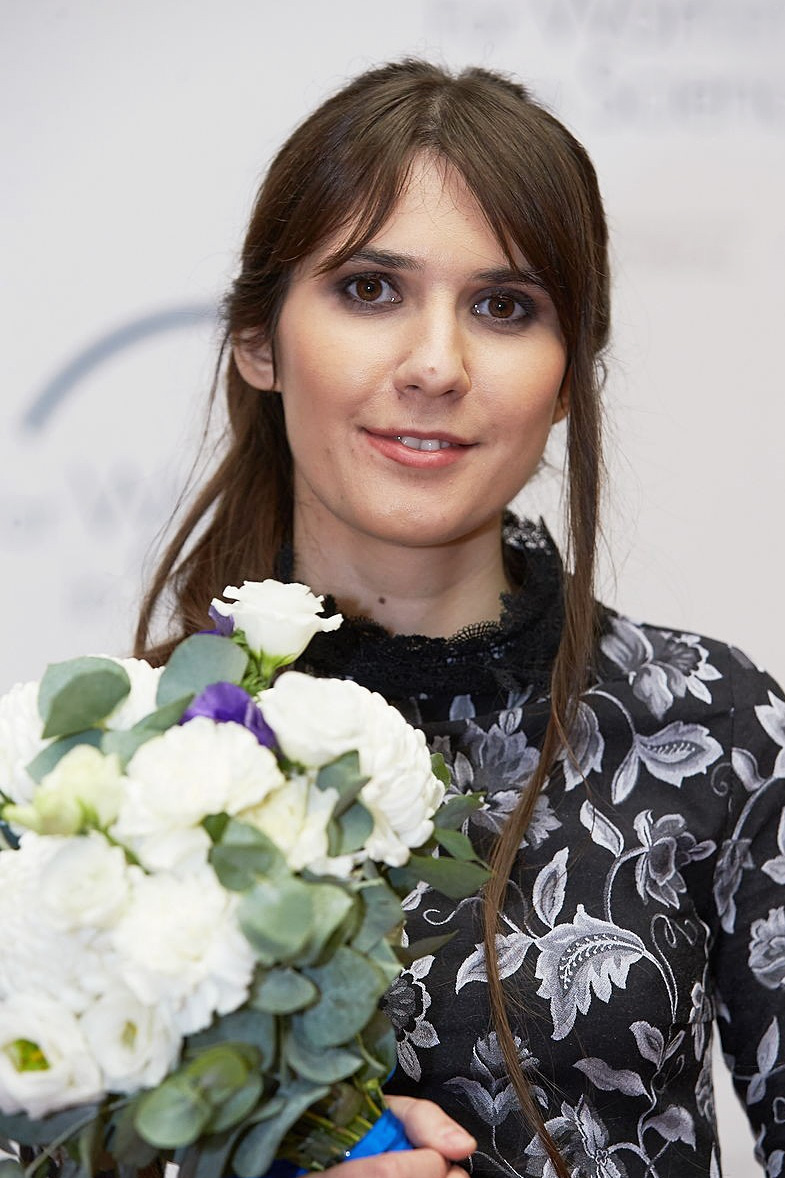 Marija Logacheva. Fonte: L`OREAL - UNESCO