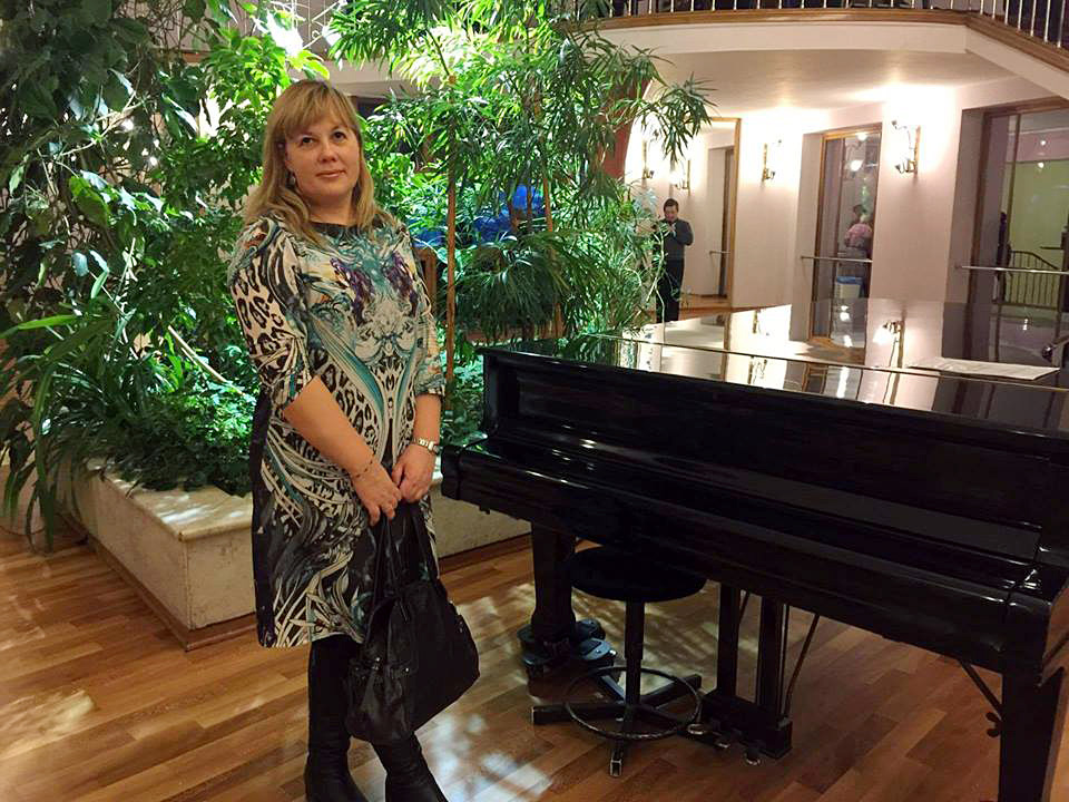 Ekaterina Ljukmanova. Fonte: archivio personale