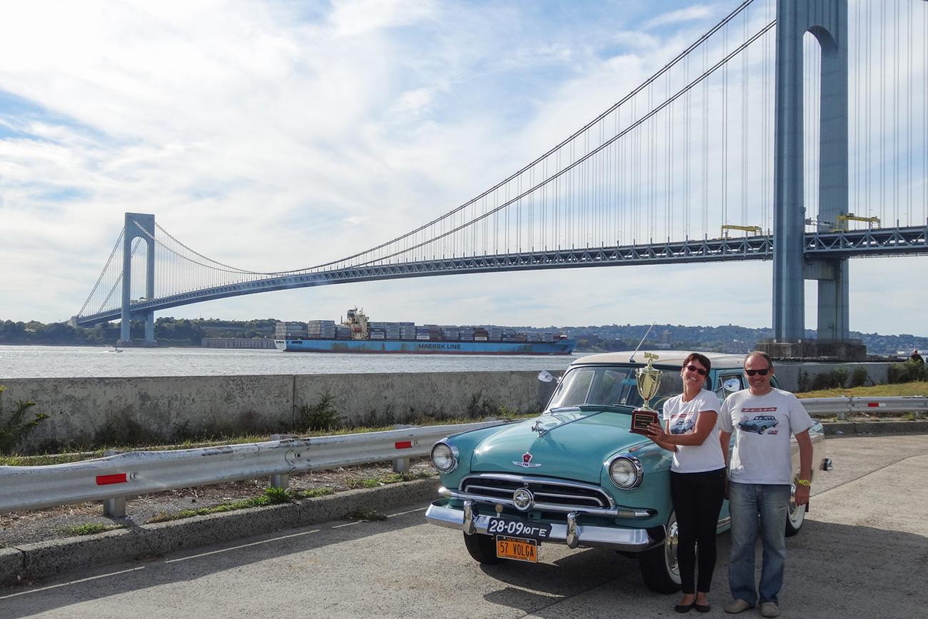 Este é o único Volga da primeira série que circula nos EUA (Foto: Arquivo pessoal)