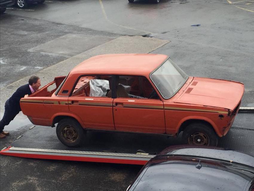 William encontrou seu carro pelo eBay (Foto: Arquivo pessoal)