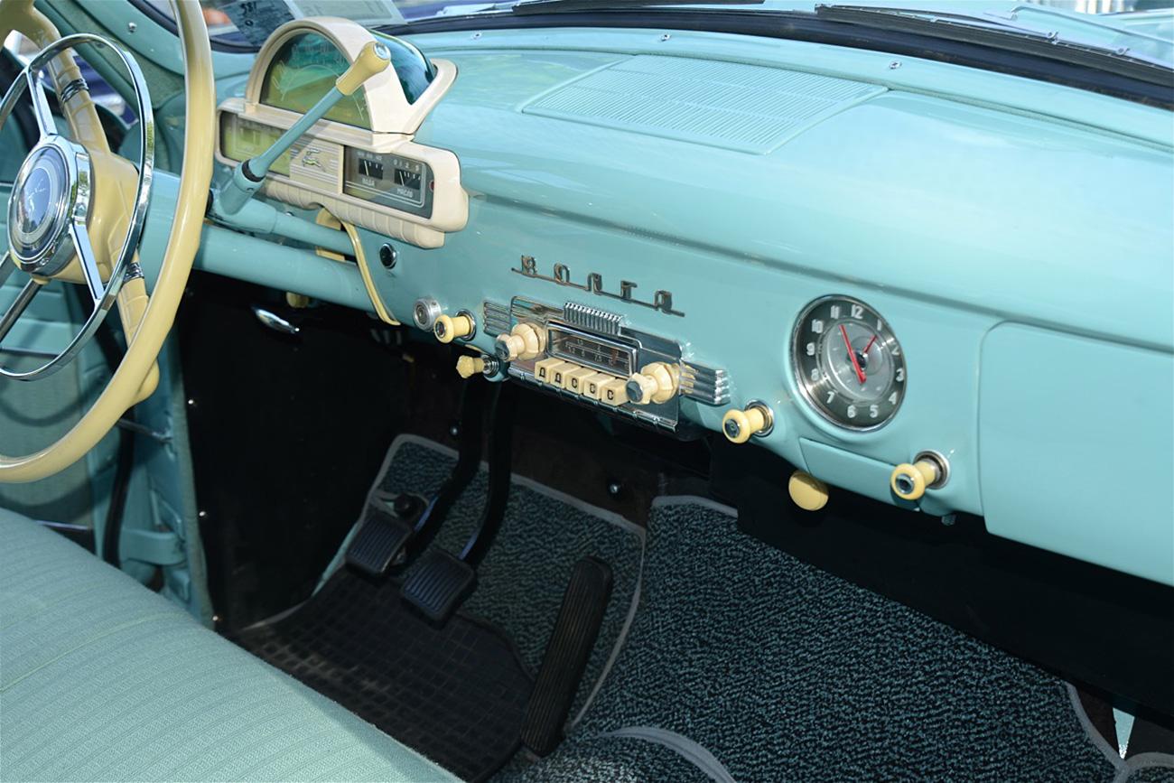 Modelo GAZ 21 foi produzido até 1970 (Foto: Arquivo pessoal)