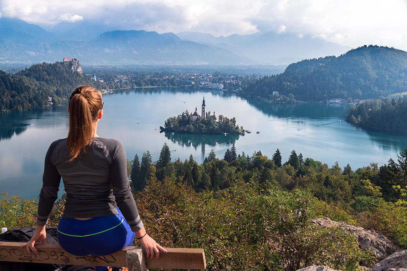 Panoramski pogled na Blejsko jezero / Getty Images