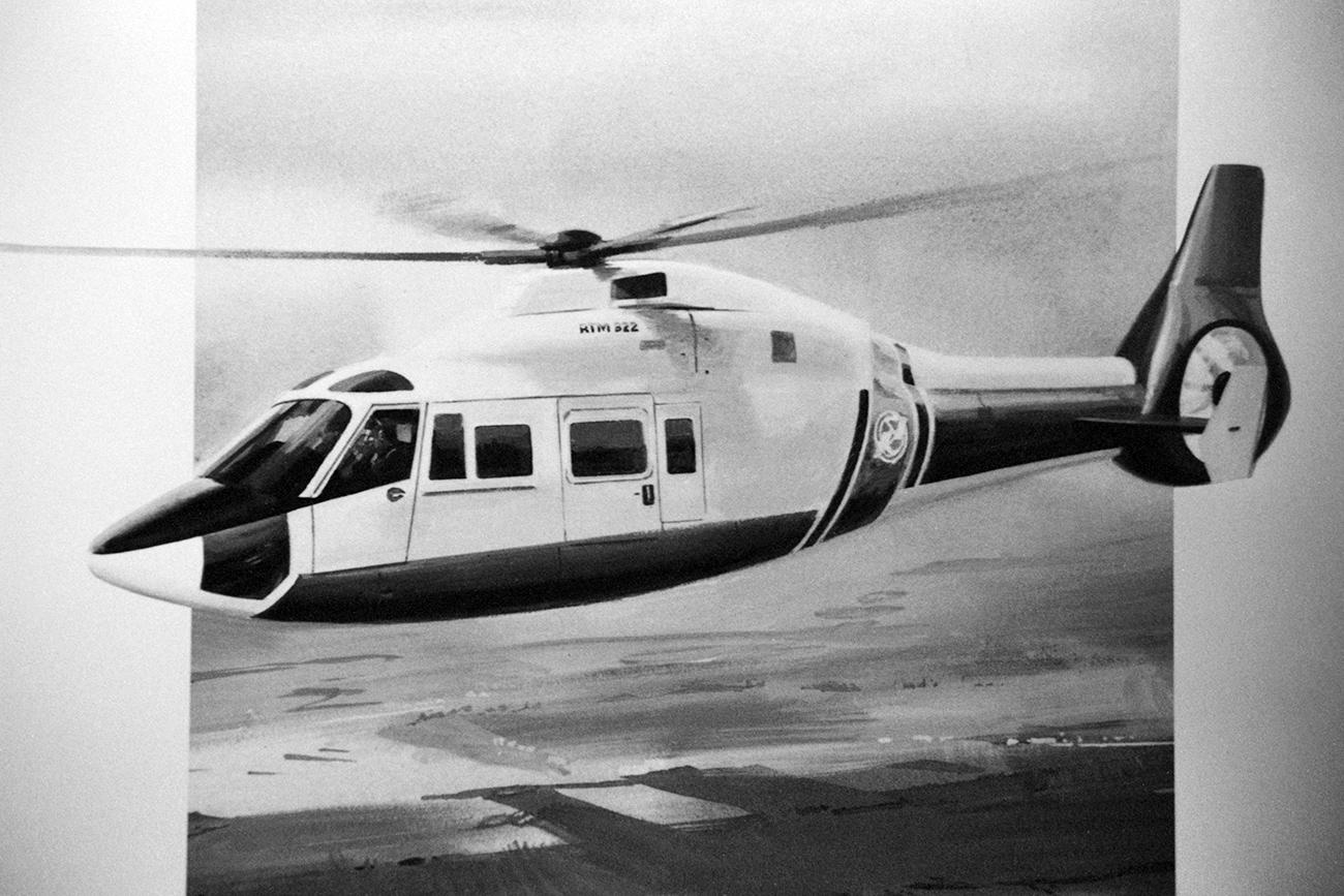 """Дизајн на хеликоптерот """"Ка-62"""" / Владимир Матвиевски / ТАСС"""