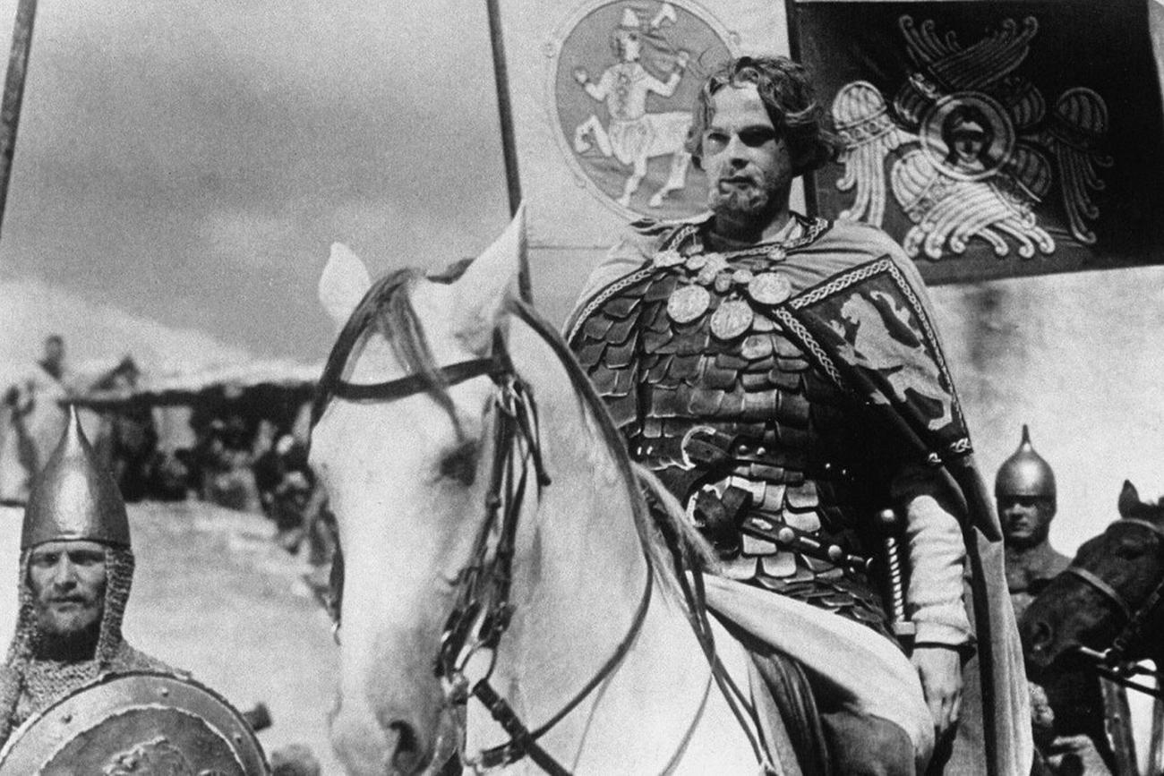 A still from 'Alexander Nevsky' movie by Sergei Eisenstein. Source: Kinopoisk.ru