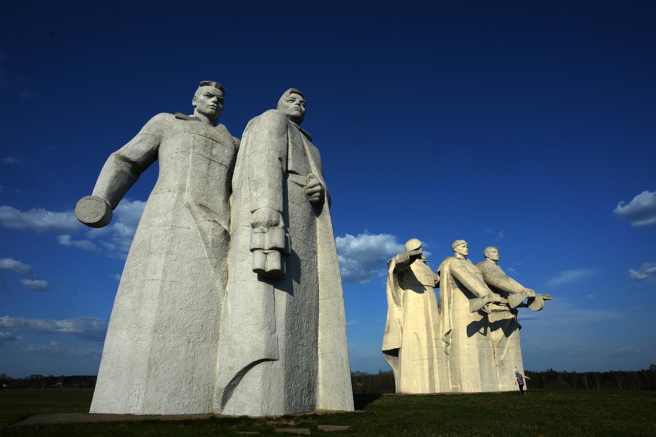 The monument to Panfilov's Twenty Eight Guardsmen in Volokolamsky District. Source: Vladimir Sergeev/RIA Novosti