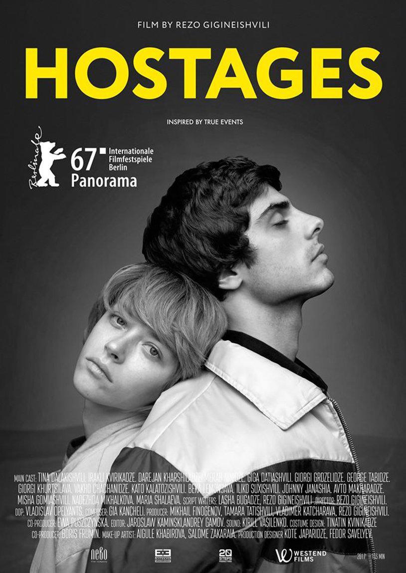 Hostages poster. Source: Kinopoisk.ru