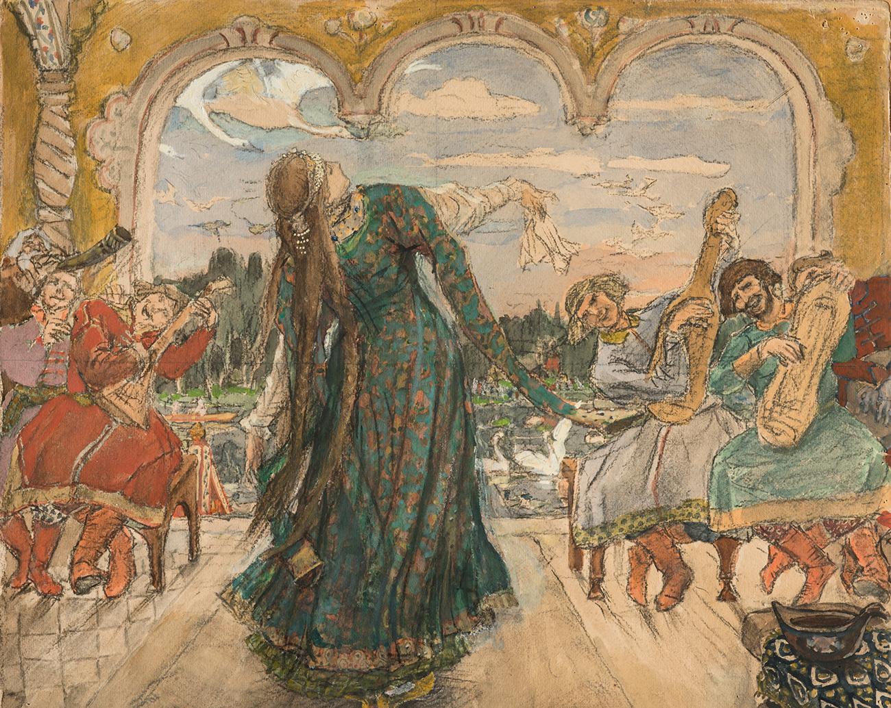 Viktor Vasnetsov. The frog Princess, 1901-1918. / Press Photo