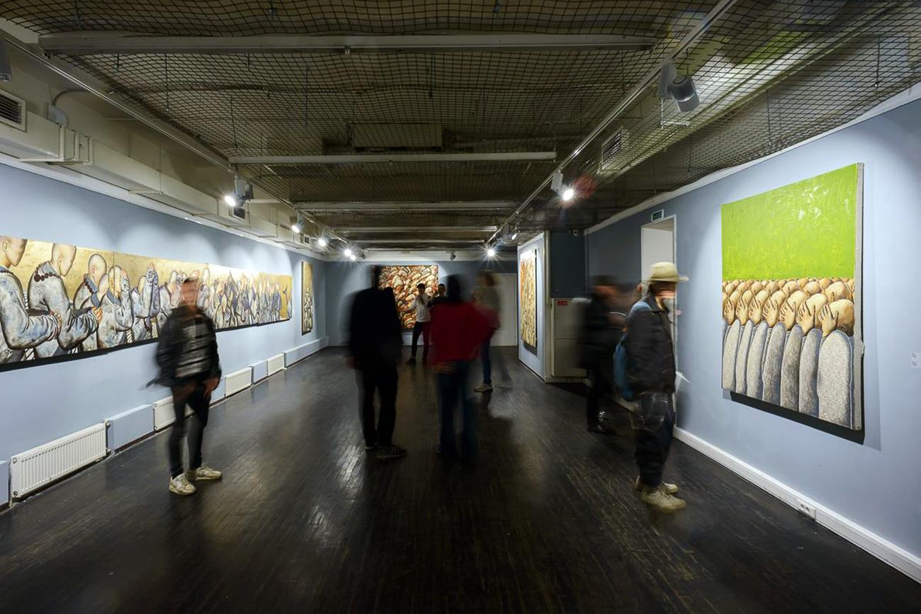 """Triumph is the most active Russian gallery."" Source: Anna Denisova/Triumph Gallery"