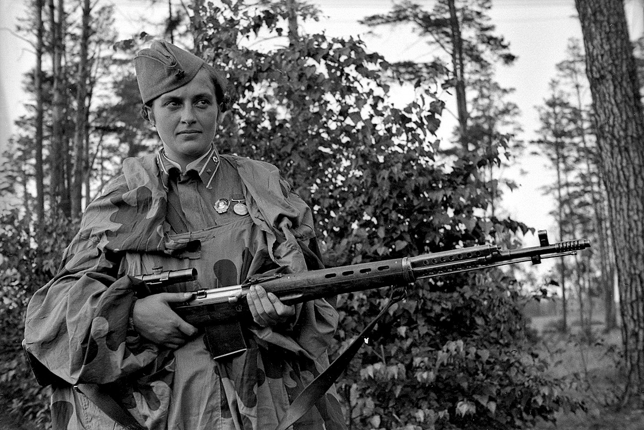 Lyudmila Pavlichenko is considered the deadliest woman sniper of the WWII.