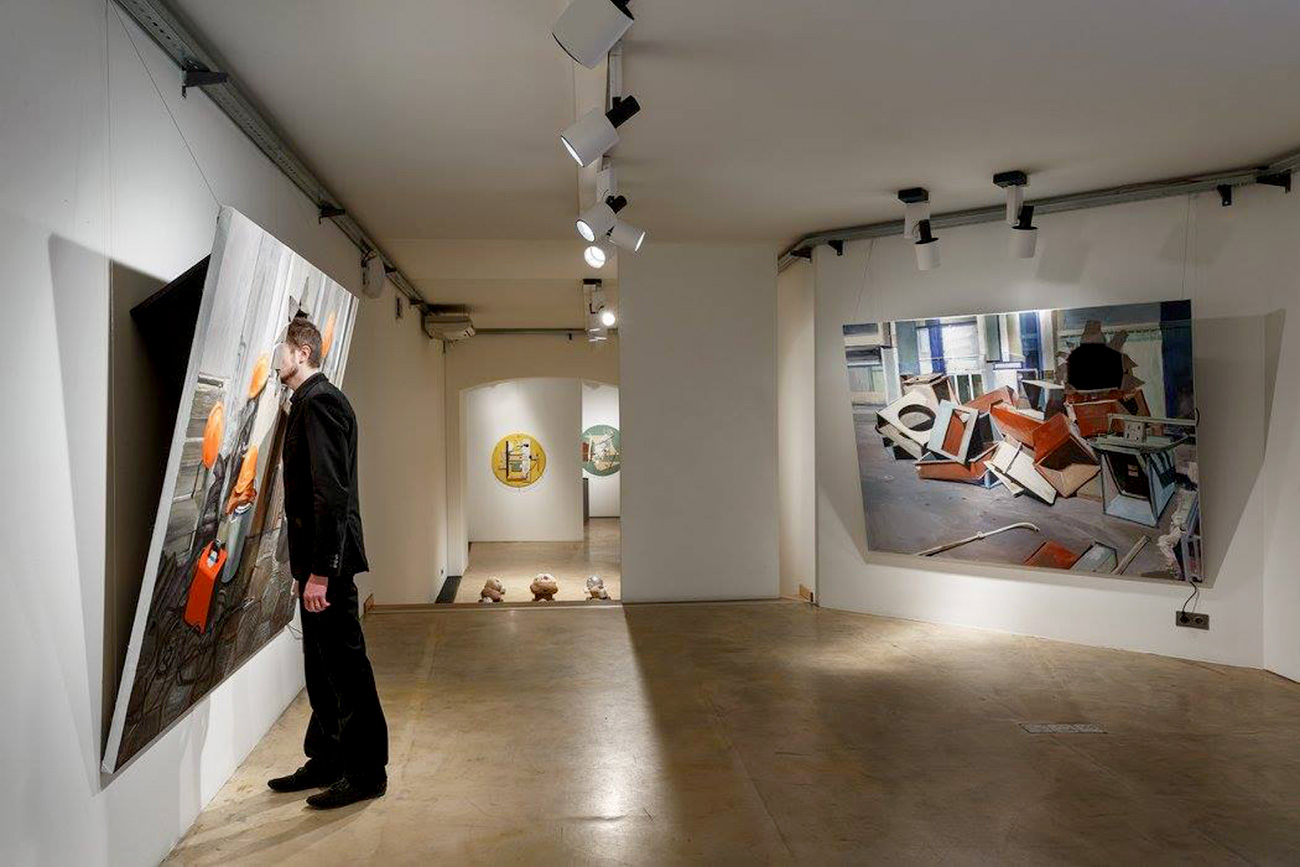 """""""This gallery actively travels the globe, taking part in art fairs where installations by Marina Alexeeva often are a hit."""" Source: Marina Gisich Gallery"""