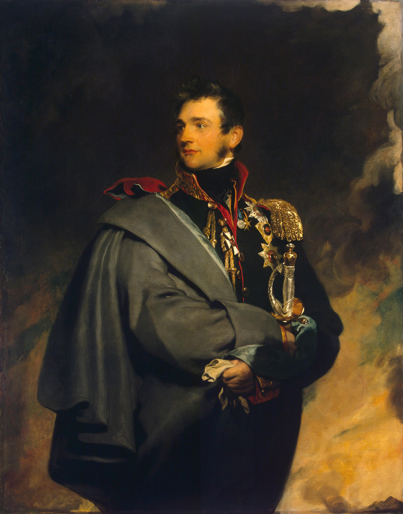 Mikhail Vorontsov by Thomas Lawrence. Source: The State Hermitage Museum
