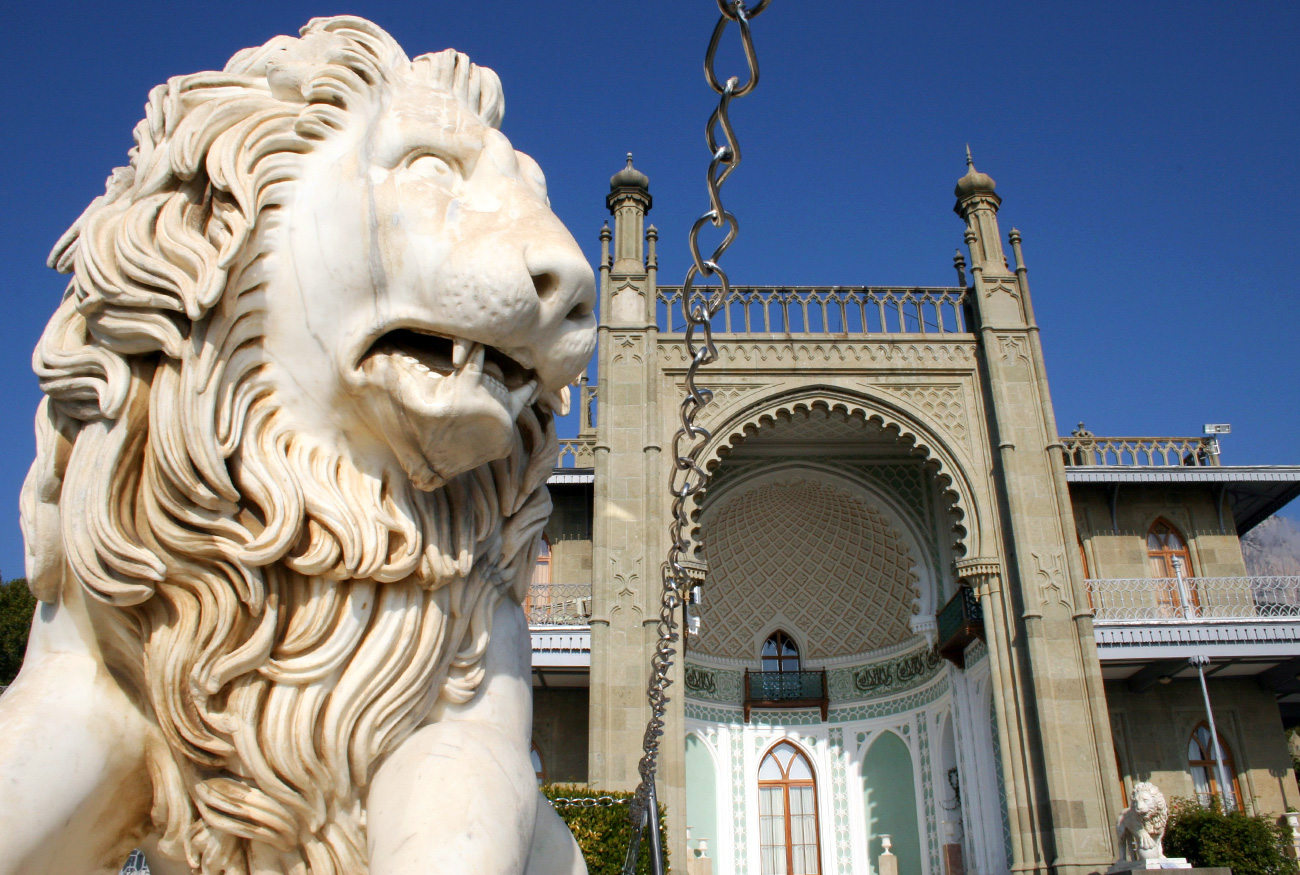 Giovanni Bonanni's marble lions. Source: Server Amzayev/Global Look Press