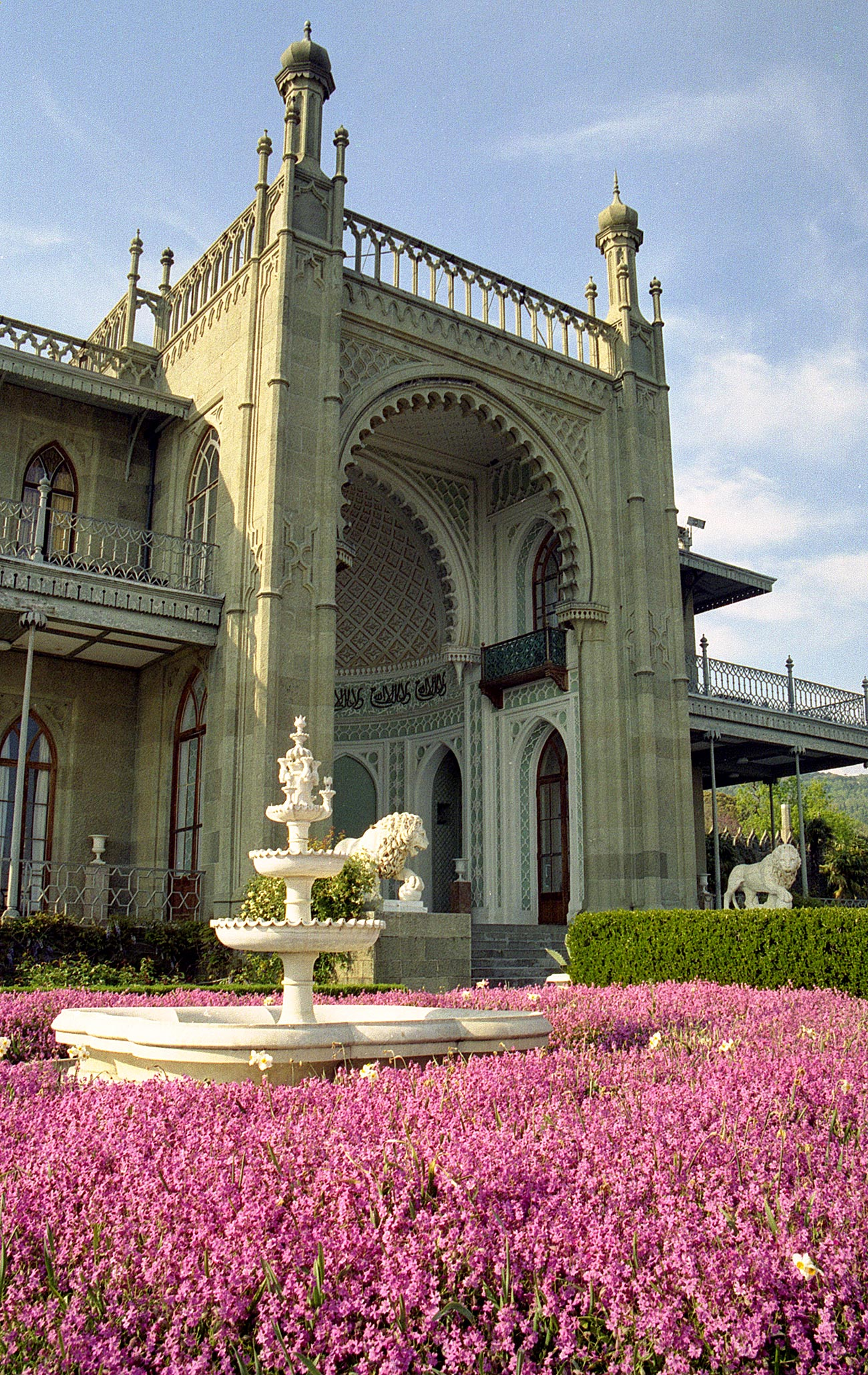 South facade of the palace. Source: Server Amzayev/Global Look Press