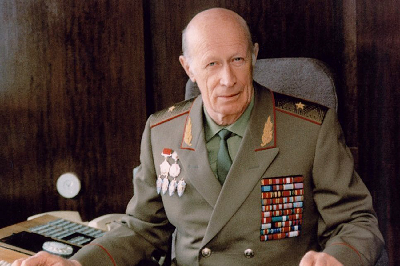 General Yuri Drozdov. Source: Russia's Foreign Intelligence Service