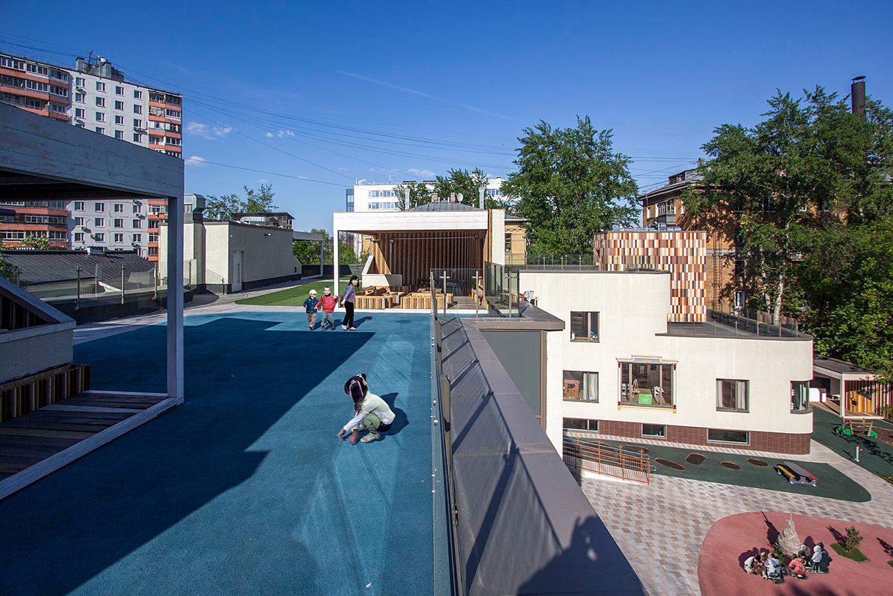 Architectural kindergarten. Source: the Andrei Asadov Studio
